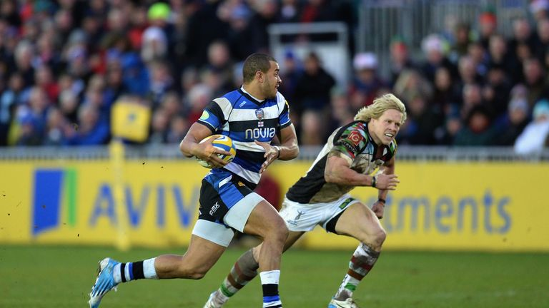 Jonathan Joseph: Scored the only try of an attritional game