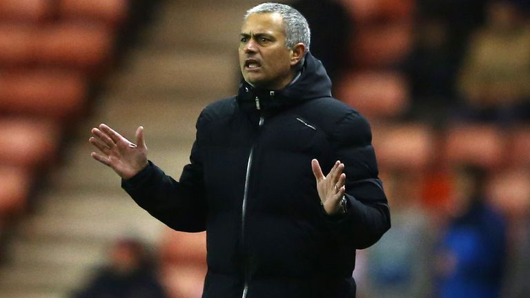 Jose Mourinho: Has never suffered a defeat against Arsene Wenger's side