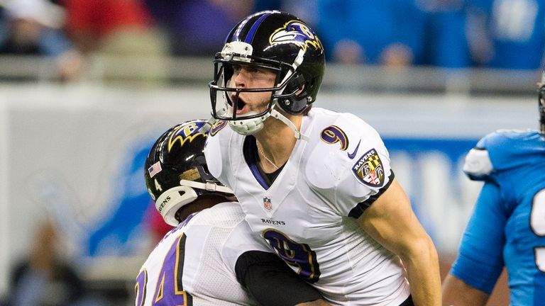 The Baltimore Ravens will be looking to make it five straight wins with victory against the Patriots