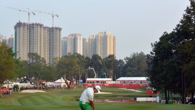 Stuart Manley: Welshman holds a narrow one-stroke lead in Hong Kong
