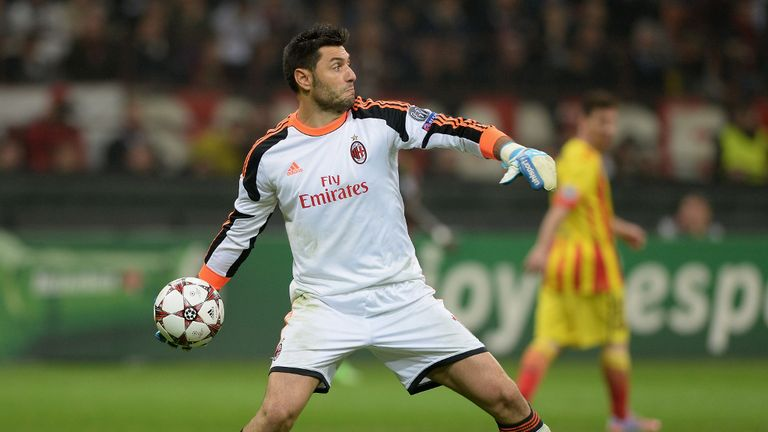 Marco Amelia: Wants Milan to stand tall