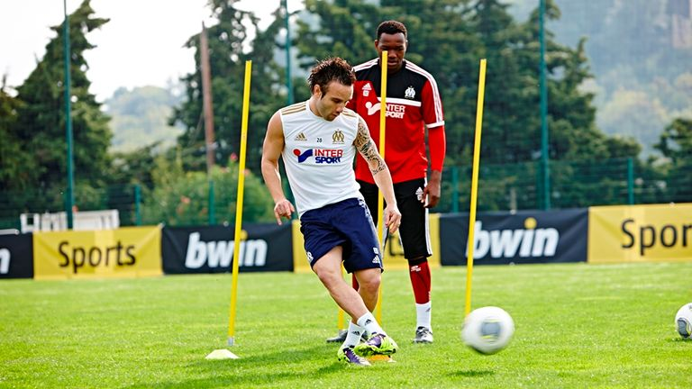 Mathieu Valbuena: Put through his paces