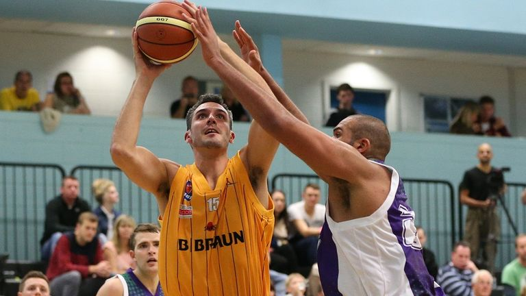 Mike Tuck: Finished with 19 points in Sheffield Sharks victory