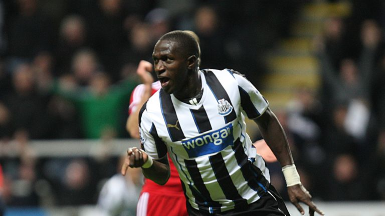 Sissoko: Celebrates super strike