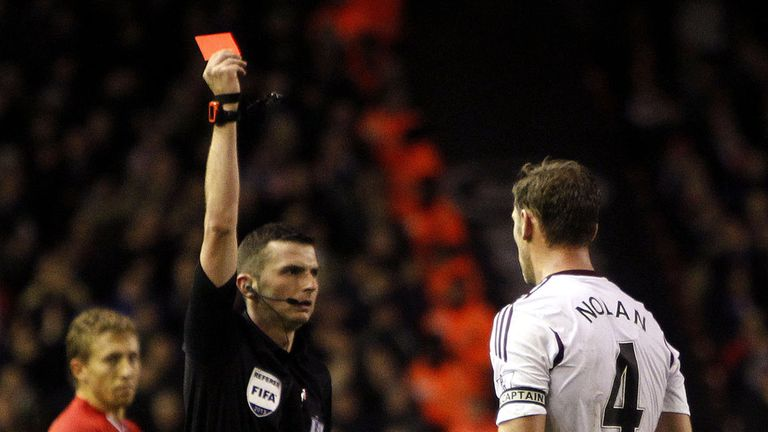 Kevin Nolan: Cancelled West Ham's Christmas party after red card