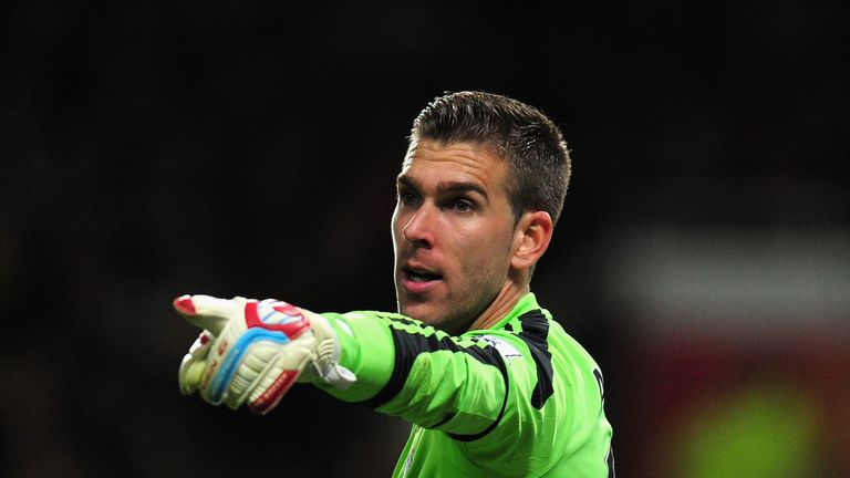 Adrian: Pleased to be at West Ham