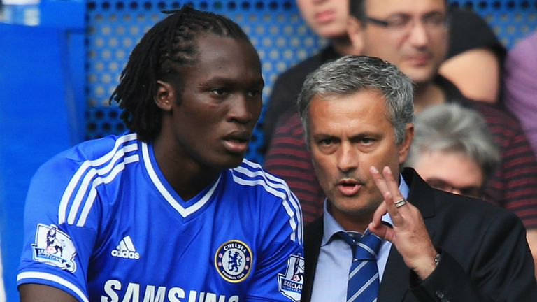 Image result for Romelu lukaku and Mourinho