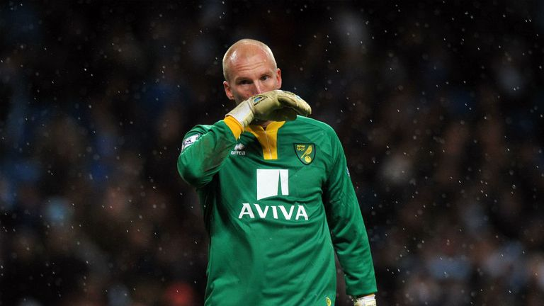 John Ruddy: Has been placed on standby