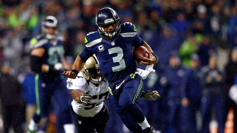 Russell Wilson: Seattle quarterback served up Monday night masterclass