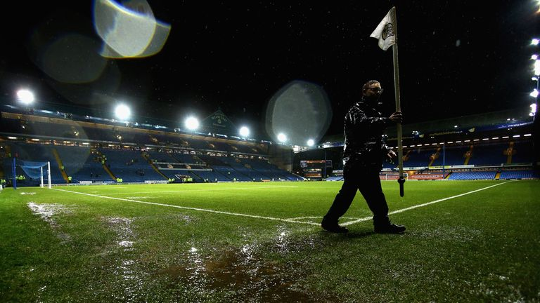 Hillsborough: Wednesday v Wigan abandoned due to a waterlogged pitch
