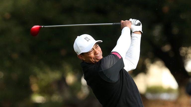 Tiger Woods: Shot an even-par 72 to retain his two-shot lead on Saturday