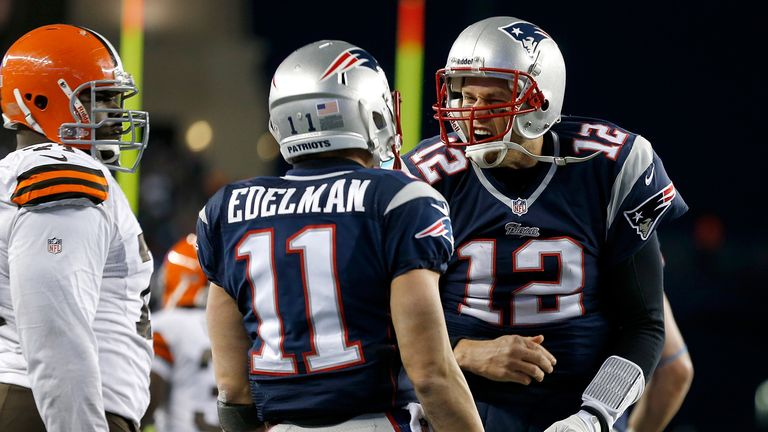 Tom Brady: Threw two touchdown passes late in the fourth quarter