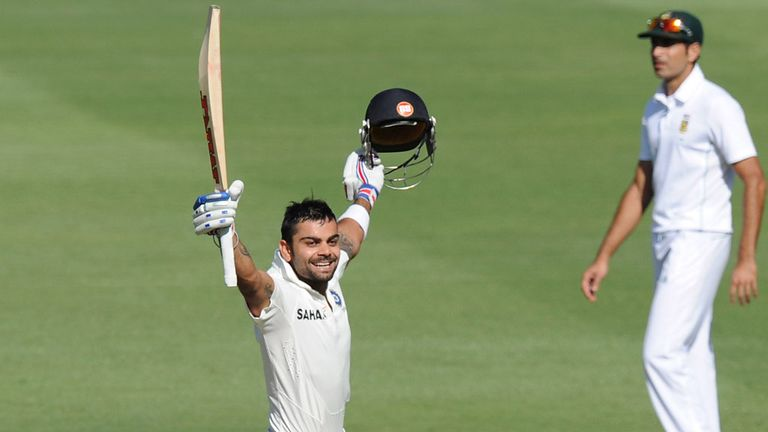 Virat Kohli: Hit 119 on day one at the Wanderers