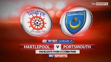 Hartlepool 0-0 Portsmouth