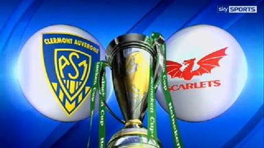 Clermont v Scarlets - Highlights
