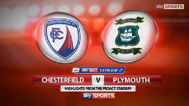 Chesterfield 2-0 Plymouth
