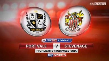 Port Vale 2-2 Stevenage