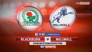 Blackburn 3-2 Millwall