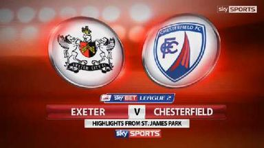 Exeter 0-2 Chesterfield