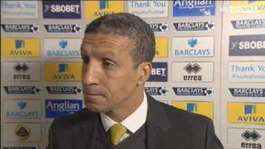 Tough to take for Hughton