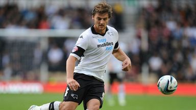 Chris Martin: Derby striker hopes to be in the Premier League next season