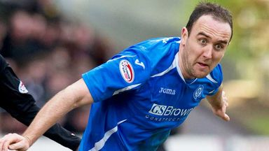 Lee Croft: Signed new deal at St Johnstone