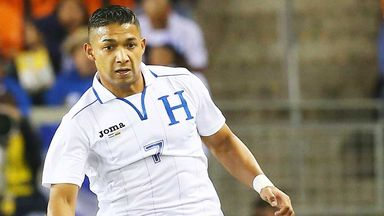 Emilio Izaguirre: Honduras defender is looking forward to next summer's World Cup
