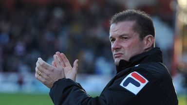 Graham Westley: Sweating over Ryan Brunt's injury