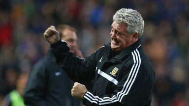 Steve Bruce delighted with Hull's performance against Liverpool