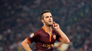 Miralem Pjanic: Happy in Rome