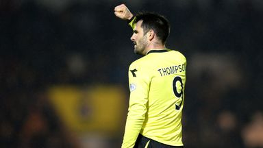 Steven Thompson: Striker says St Mirren are not too good to go down