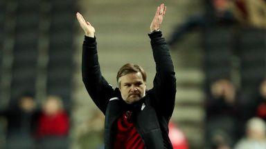 Steven Pressley: Hints at striker arrival