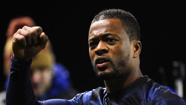 Patrice Evra: Manchester United defender is yet to decide future