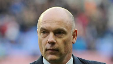 Uwe Rosler: Happy with strength in depth