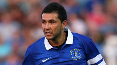 Antolin Alcaraz: Everton defender has fully recovered from his injury woes