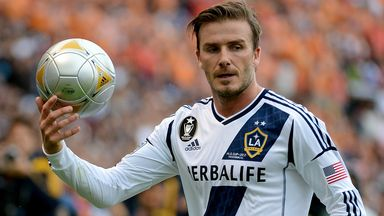 David Beckham: Former England captain keen to set up MLS franchise in Miami