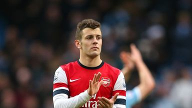 Jack Wilshere: Could be banned for visit of Chelsea on Monday