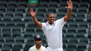 Vernon Philander: Seven wickets in Johannesburg