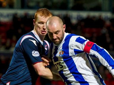 Kris Boyd: Impressive performance for Killie