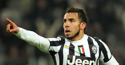 Tevez hat-trick for Juventus