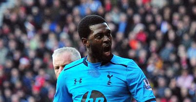 Emmanuel Adebayor: Had a good game at Southampton