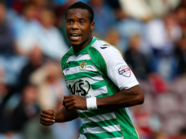 Liam Davis: Ruled out for Yeovil
