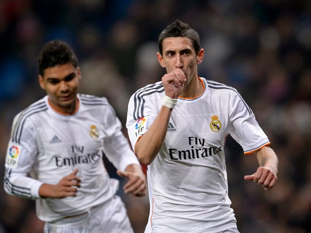 Angel Di Maria: On target for Real