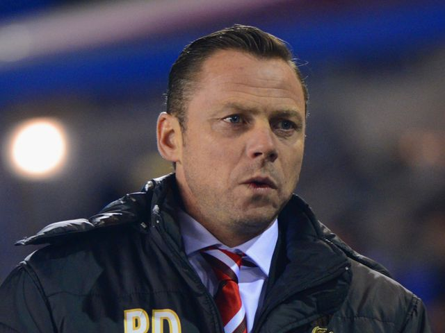 Dickov: Glad with a point but felt it could have been a win