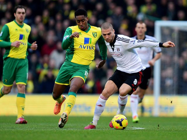 Leroy Fer and Pajtim Kasami battle for the ball