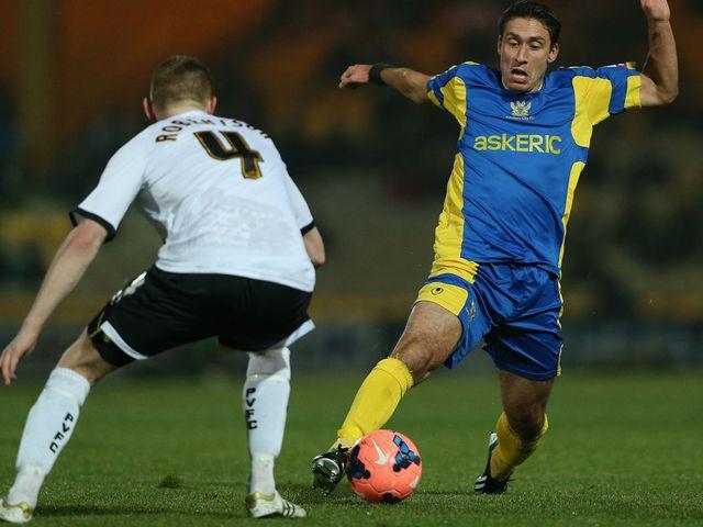 Chris McPhee: Salisbury City star takes on Vale's Chris Robertson