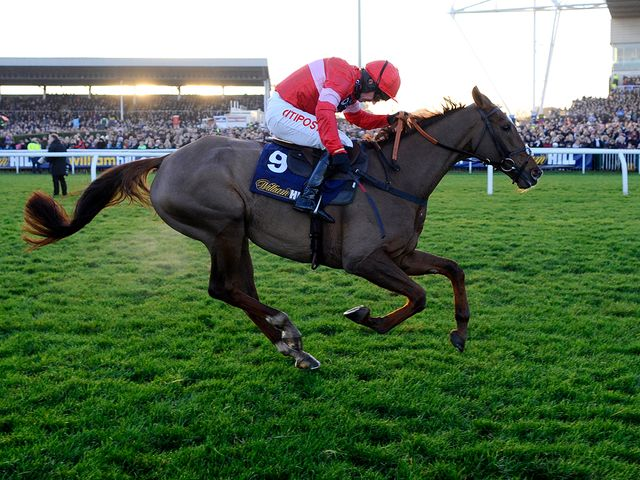 Silviniaco Conti: Reeled in Cue Card to win the King George