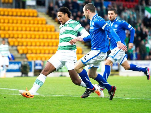 Virgil van Dijk scores for Celtic