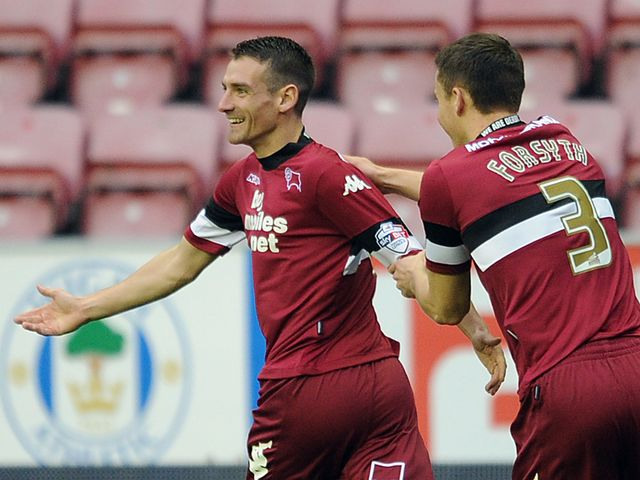 Craig Bryson: Opened the scoring for Derby