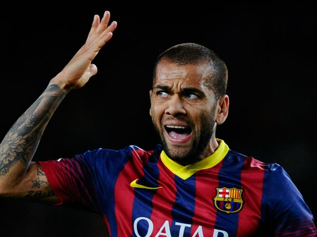 Alves: Delighted after Barca beat City